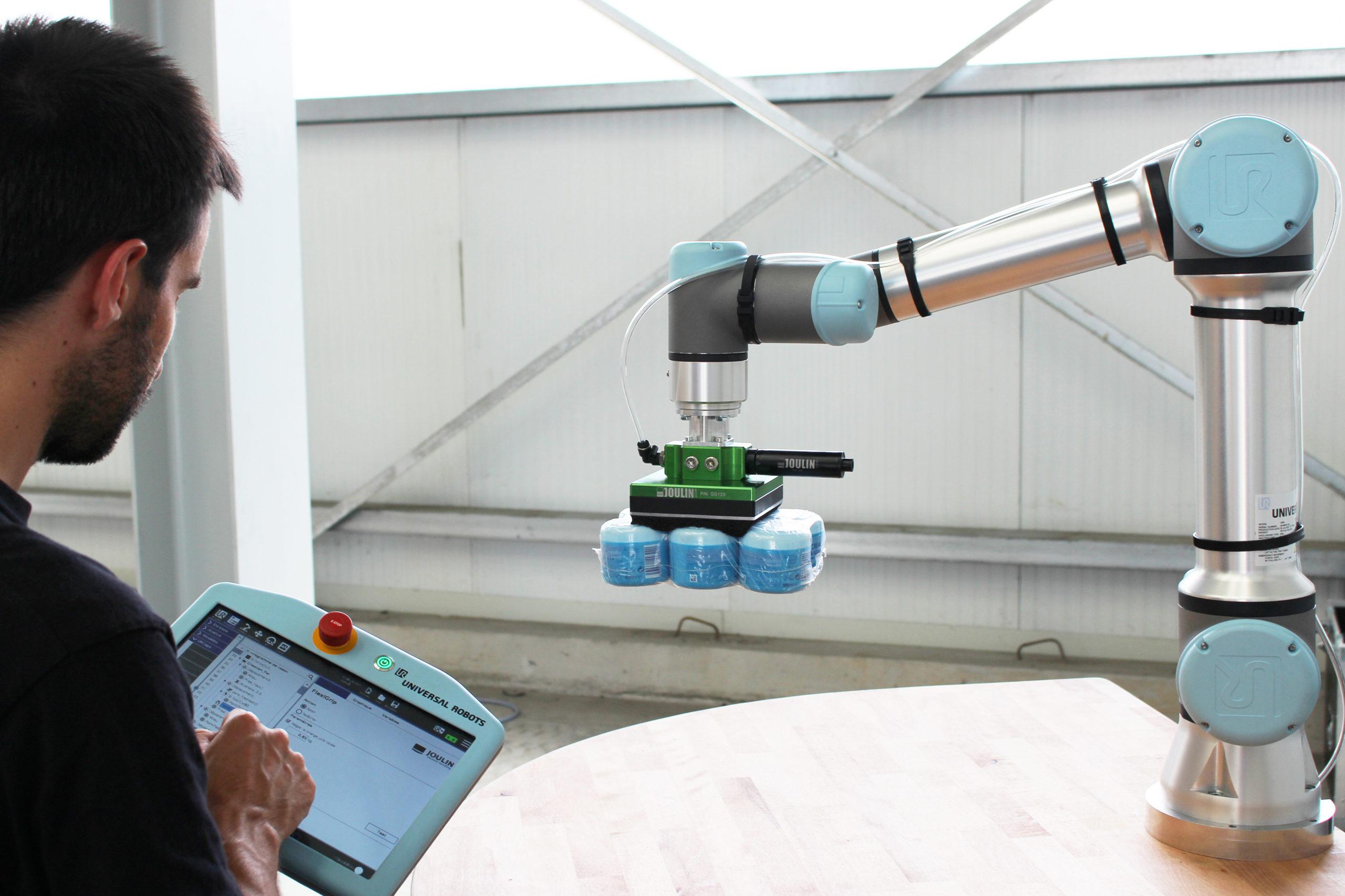 Universal Robots accueille le Français Joulin au sein de son écosystème UR+
